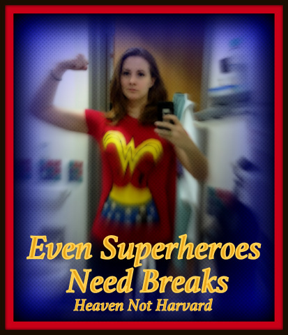 If being a mom is a superpower, this is our Wonder Woman, and I'm nominating her for the #BreakYouMake award from Chobani.