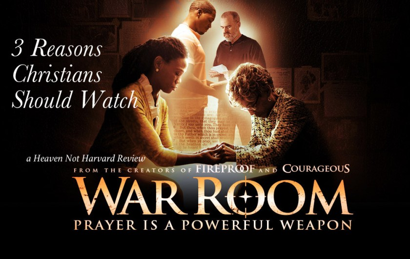If you didn't rush out to watch War Room when it was released, and aren't sure you want to now, let me share 3 Reasons Christians Should Watch War Room.