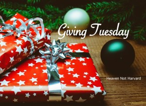 """I found my heart for Giving Tuesday through these words, """"Christ has no body but yours, No hands, no feet on earth but yours."""" - Teresa Avila"""