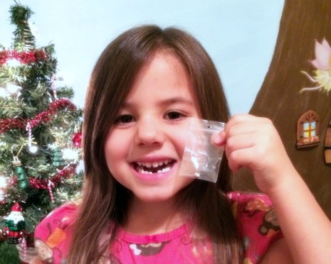 We hit the Tooth Fairy milestone this week. I was happily prepared for this, ready to mark the moment with some cute items that made it special for us both.