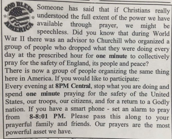 Please pray with me for America. We are in a state of emergency that needs real intercession. Join me every night.