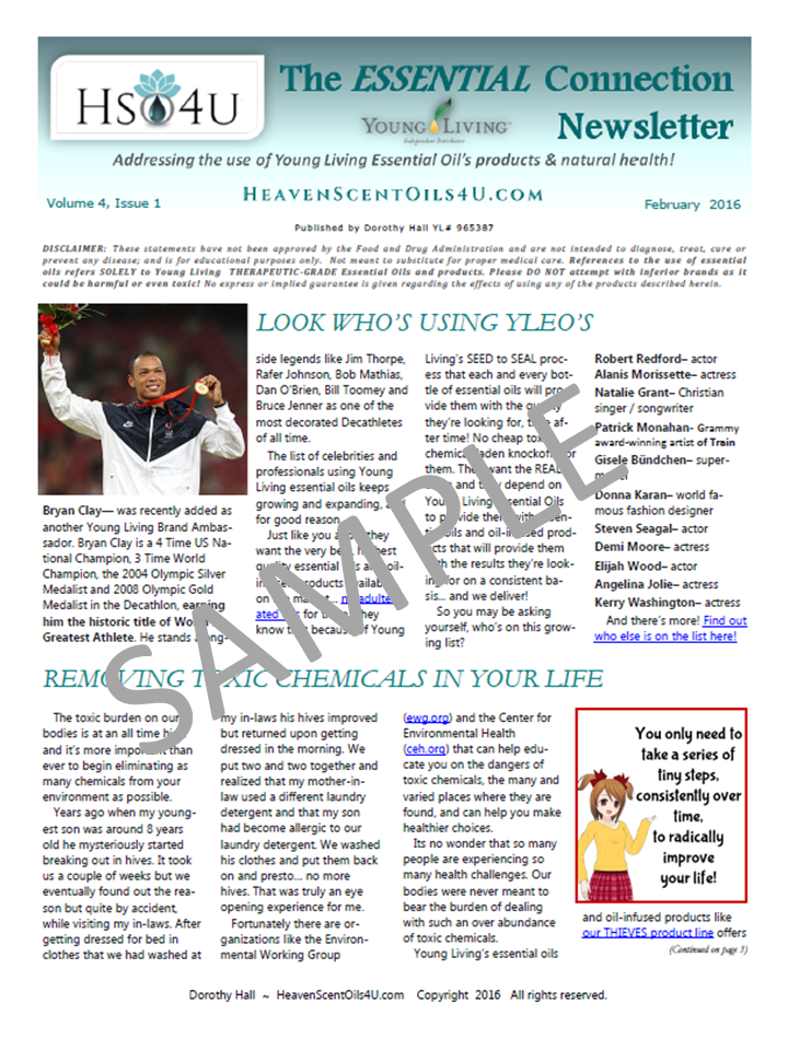 SAMPLE TEC newsletter