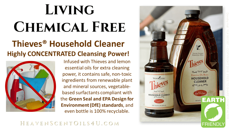Toss all your TOXIC, chemical laden cleaners and come on over to the healthy GREEN side!