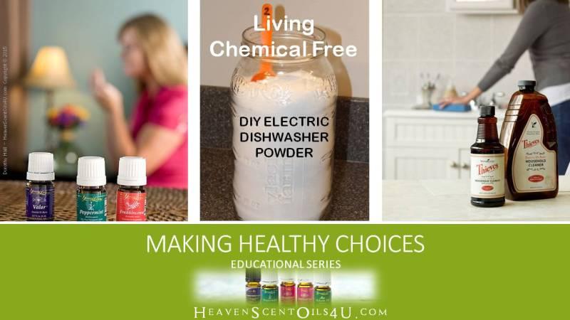 DIY electric dishwasher powder