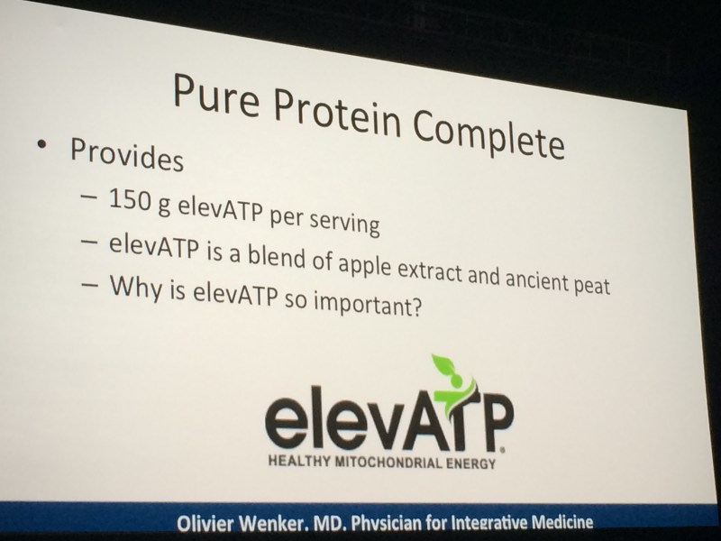 pure protein atp