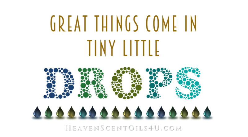 great things come in tiny little drops 2