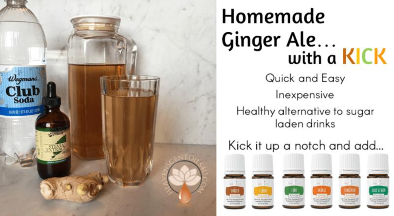 homemade-gingerale-w-oils