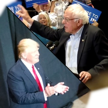 Bernie Sanders and Donald Trump Visit New Mexico