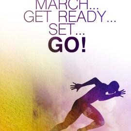 March Get Ready Set Go