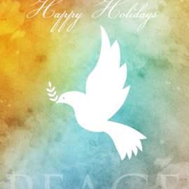 Happy Holiday - Peace
