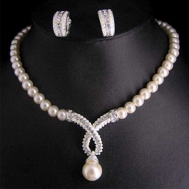 Pearl Jewellery Set 1