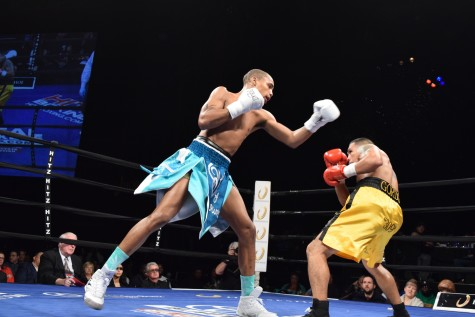 Ed Brown with an impressive TKO versus Gilbert Venegas