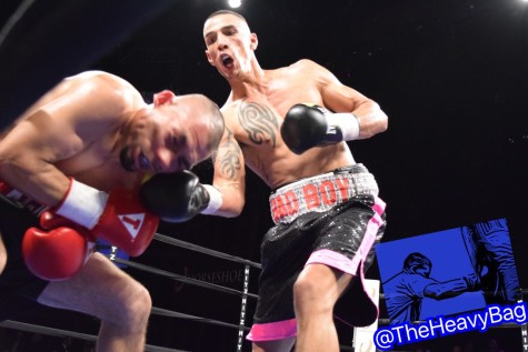 Nick Bad Boy Ramirez does work against Agustin Cicero