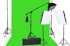 fancierstudio chromakey lighting kit