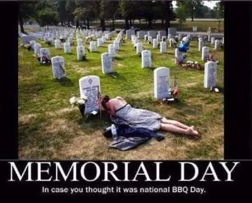 Funny Memorial Day Meme & Images | Wishlovequotes
