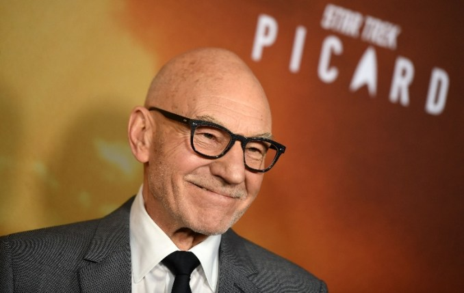Sir Patrick Stewart attends the Premiere of Star Trek: Picard | Red Carpet Premiere at the Arclight Hollywood, in Hollywood, California