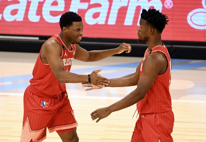 Kyle Lowry, Jimmy Butler