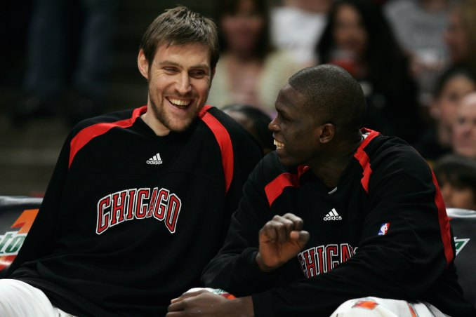 Andres Nocioni and Luol Deng