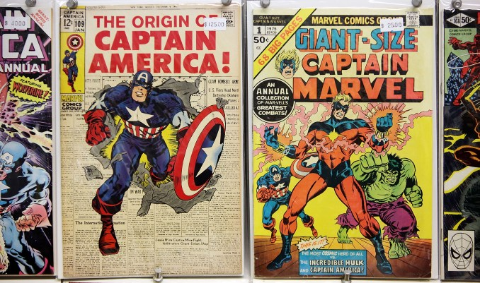 Issues of Marvel comic books