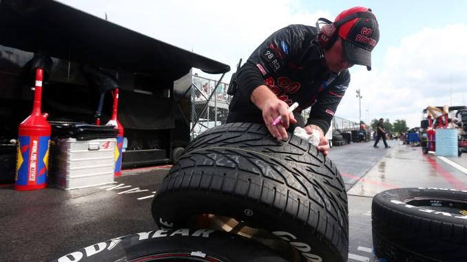NASCAR Rain Tires