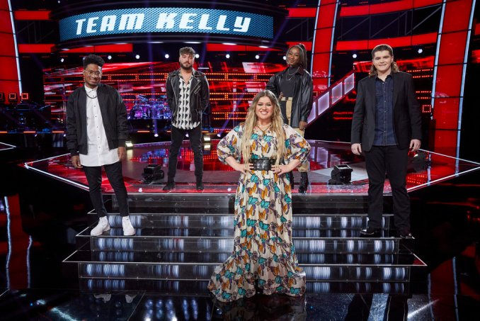 Team Kelly The Voice