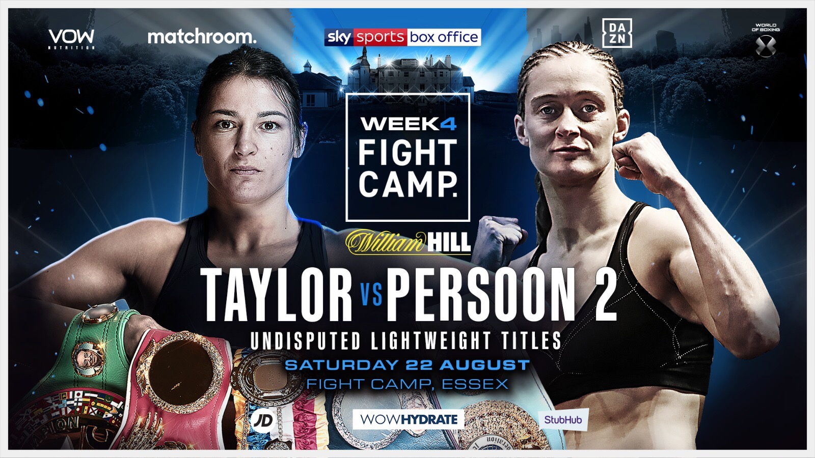 Persoon confirmed as opponent for Katie Taylor