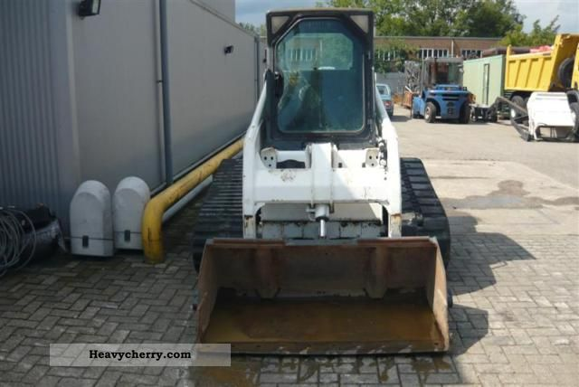 Bobcat 864 Mini Kompact Digger Construction Equipment