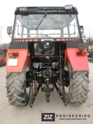 Zetor 3320 1997 Agricultural Tractor Photo and Specs