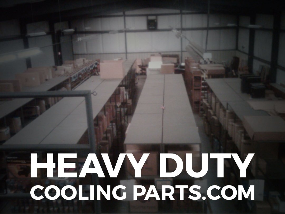 Our parts warehouse holds thousands of heavy duty truck radiators and other cooling parts for heavy duty vehicles