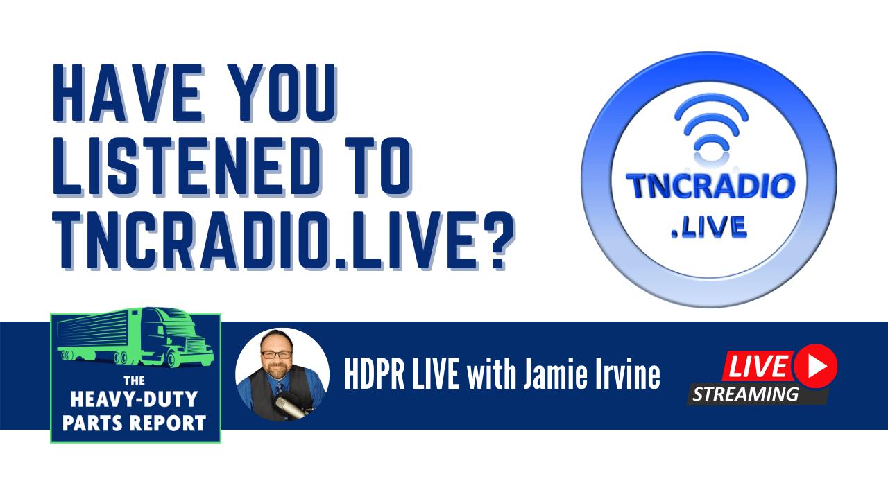 Jamie Irvine interviews Tom Kelley from TNCRadio.live