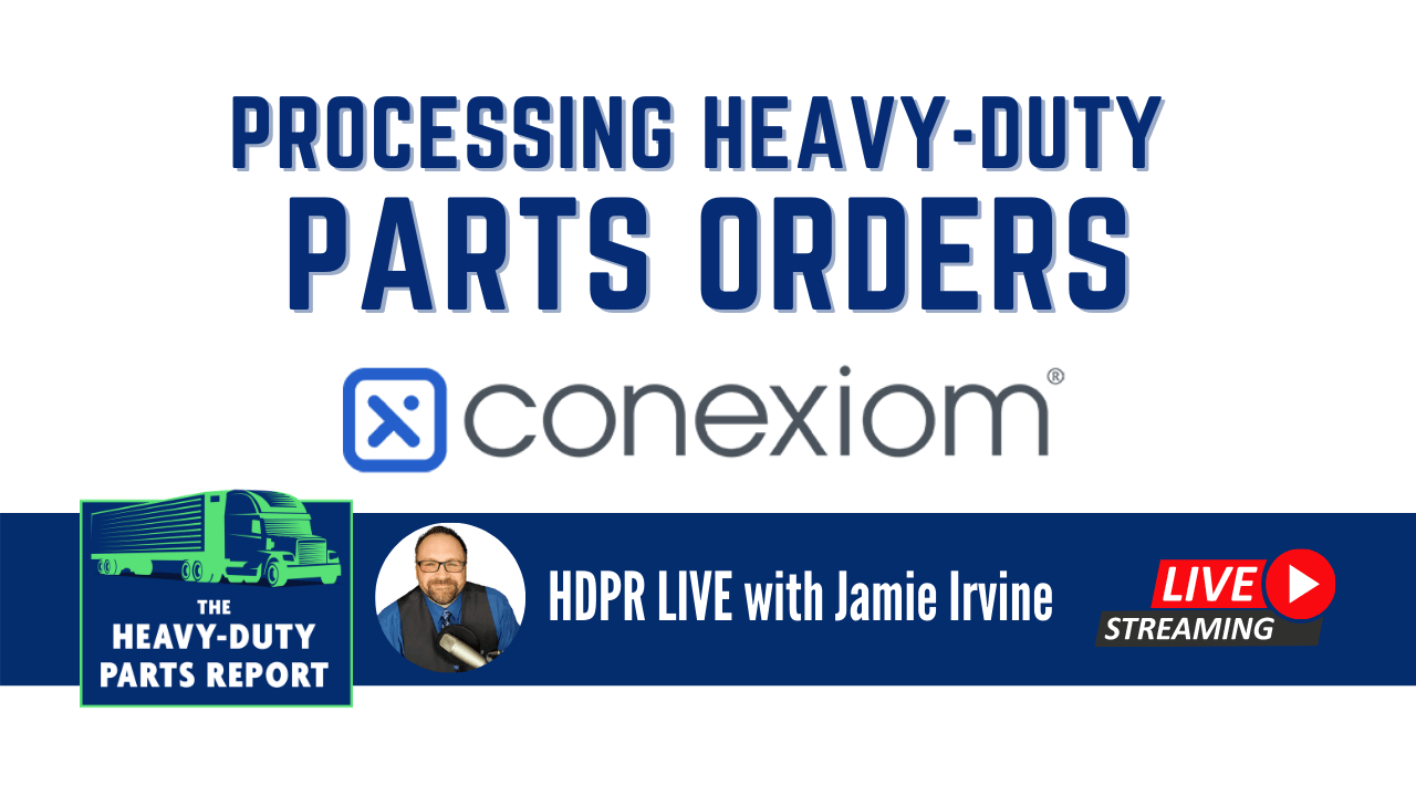 Jamie Irvine interviews Logan Luptak about Processing Heavy-Duty Parts Orders Digitally