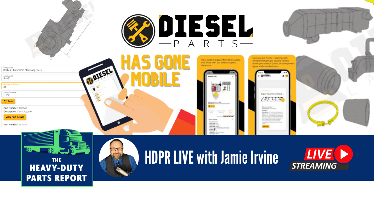 Diesel Parts Has Gone Mobile