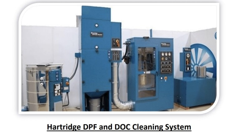 Hartridge DPF and DOC Cleaning System
