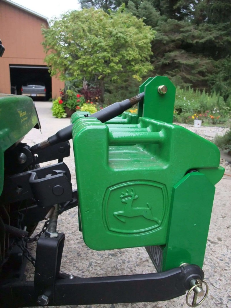 Category 0 Receiver Tractor Hitch Suitcase Weight Bracket
