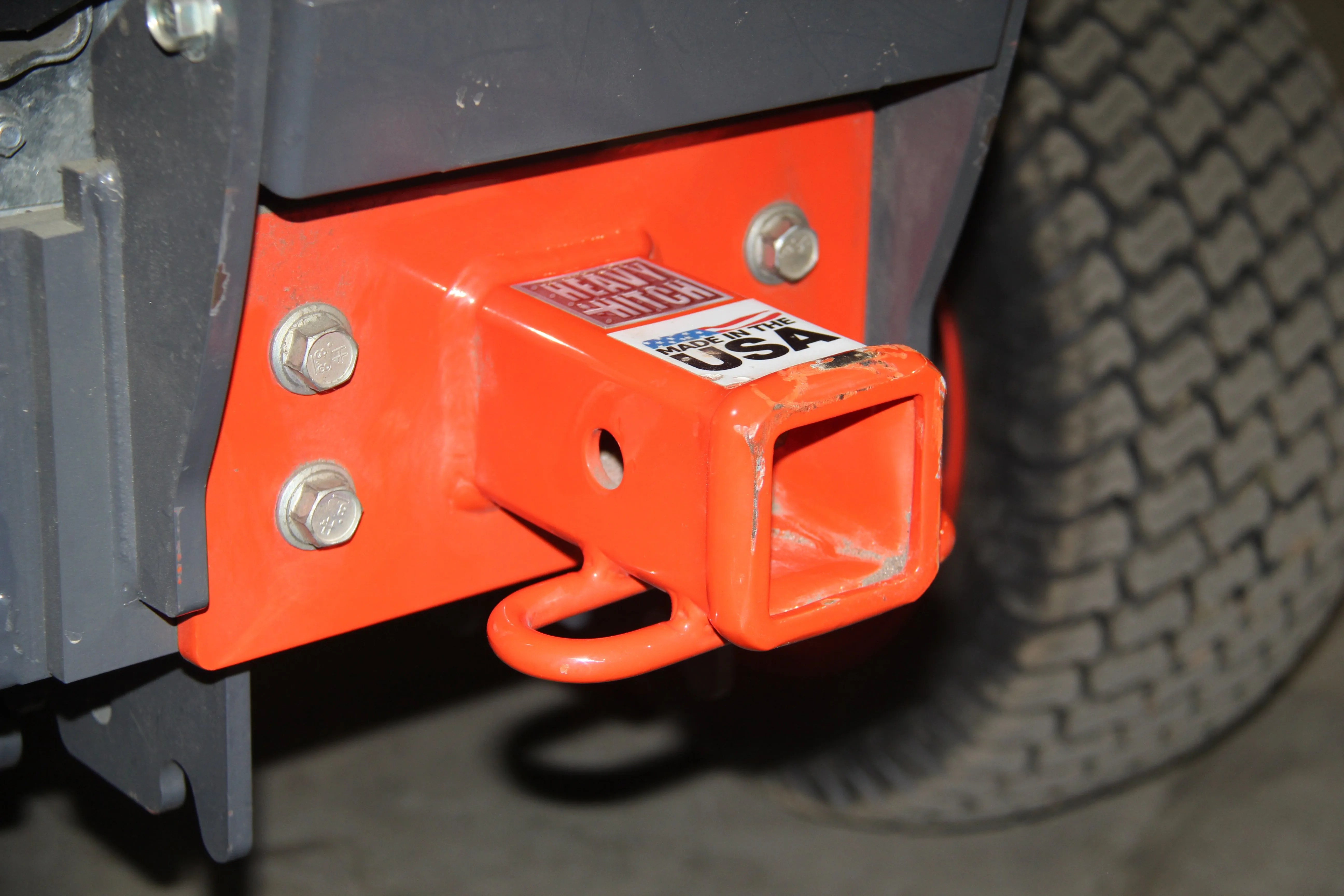 """2/"""" Bolt on Receiver hitch for Kubota BX Series Sub Compact  FREE SHIPPING!"""