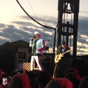 Cheap Trick, Coralville, IA 7-24-15. Picture by @CupofJoAnn