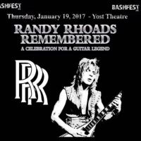 RANDY RHOADS REMEMBERED Lineup Announced for Thursday, January 19, 2017 at Yost Theater