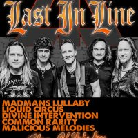 LAST IN LINE THE WHISKY VIVIAN CAMPBELL VINNY APPICE PHIL SOUSSAN ANDREW FREEMAN ERIK NORLANDER 7/14/2017