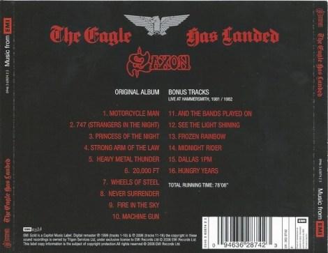 2006 Reissue Tracklising