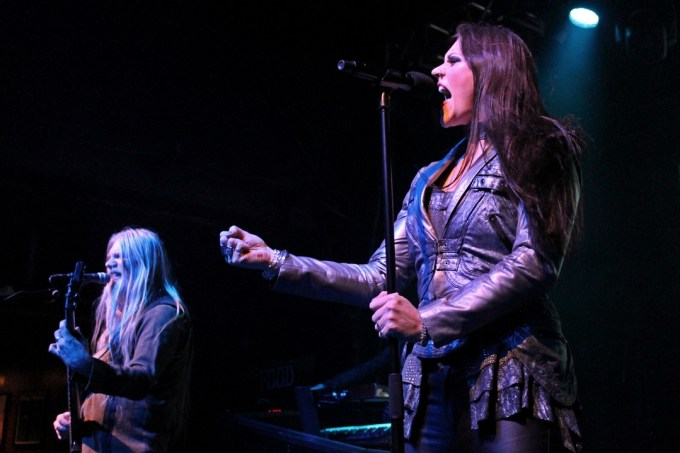 Nightwish Vocalist Floor Jansen and Bassist Marco Hietala