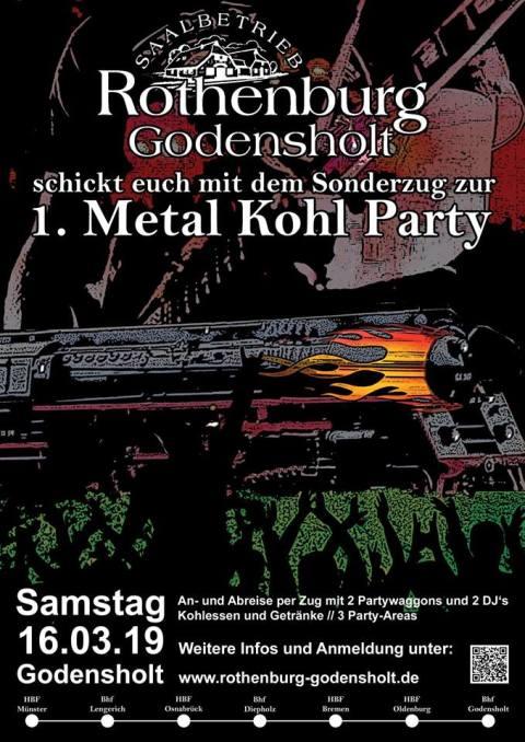 Metal Kohl Party