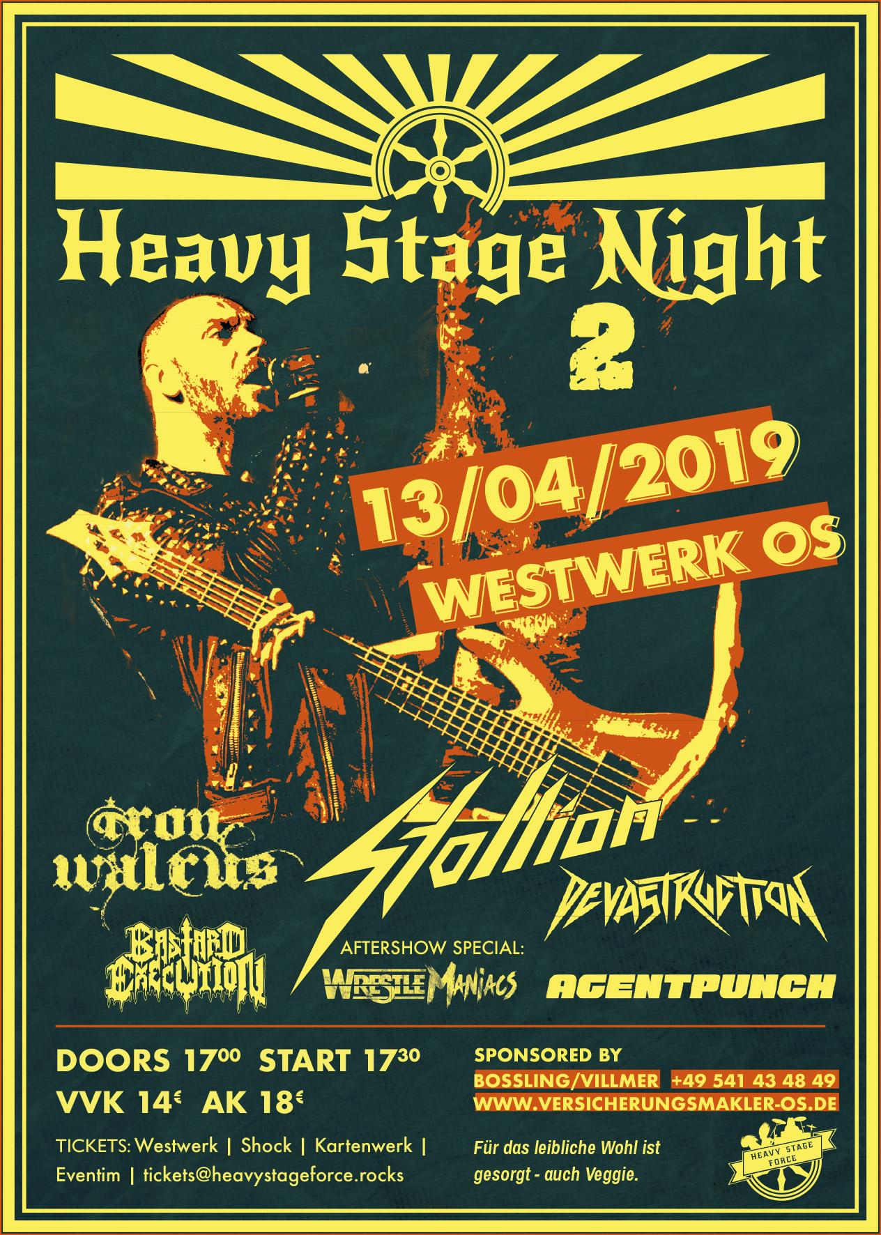 Heavy Stage Night 2