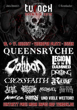 Flyer Turock Open Air 2019