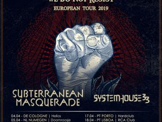 Tourposter Orphaned Land - We Do Not Resist Tour