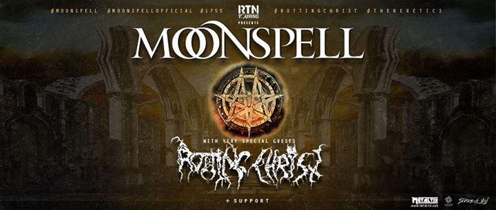 Rotting Christ + Moonspell