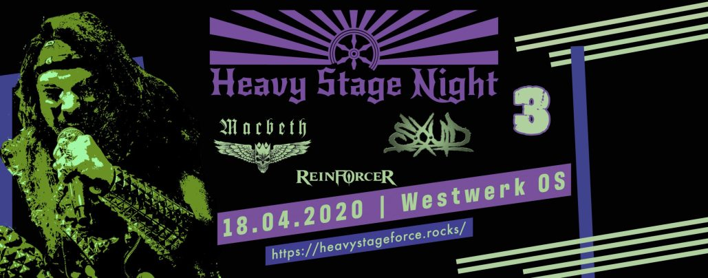 Heavy Stage Night 3 - Titel Macbeth