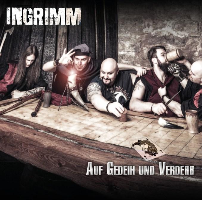 CD-Cover Ingrimm - Auf Gedeih Und Verderb