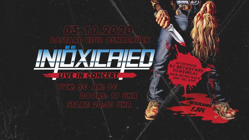 Konzertflyer Intöxicated 03.10.2020