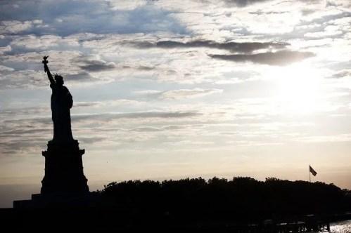 פסל החירות סילוואט ניו יורק