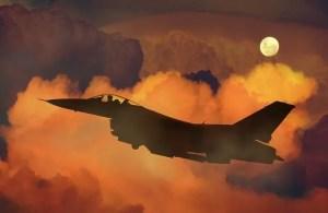 מטוס קרב יוצא למלחמה